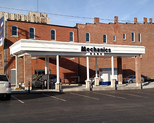 Mechanics Bank Drive Through